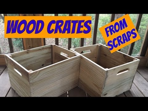 DIY Wood Crates / woodworking