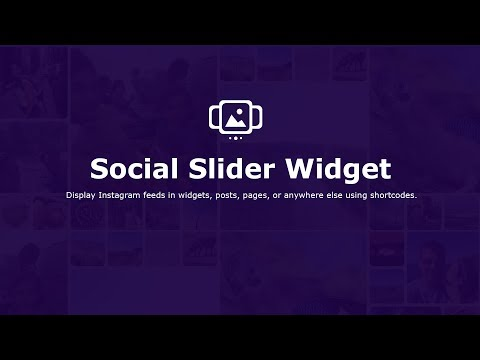 Social Slider Widget tutorial