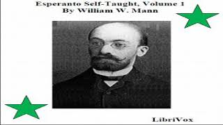 Esperanto Self-Taught with Phonetic Pronunciation, Volume 1 | William W. Mann | Talkingbook | 1/4