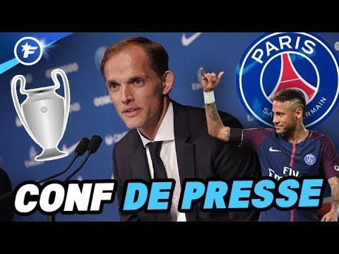 Mercato, Neymar, LDC : les premiers mots de Tuchel au PSG