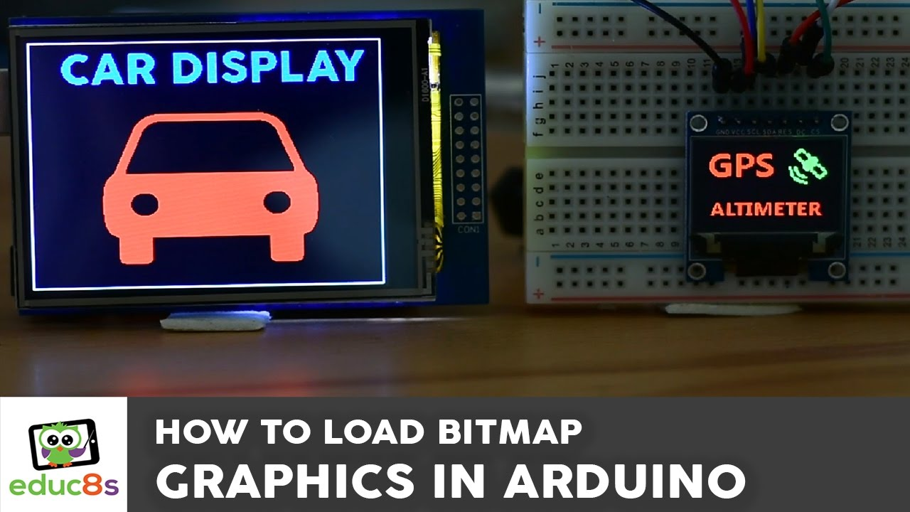 Arduino Tutorial: Bitmap graphics on an Arduino Touch ...
