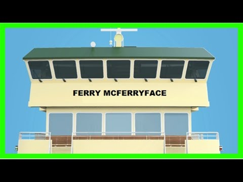 Sydney ferry named ferry mcferryface after 'boaty' rejected