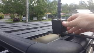 Home Made Fold down UHF antenna mount