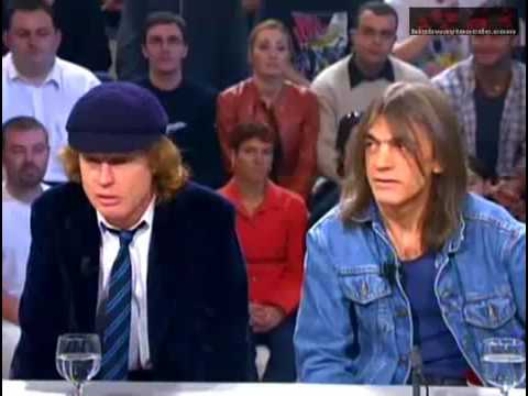 AC DC Angus and malcolm Young Interview