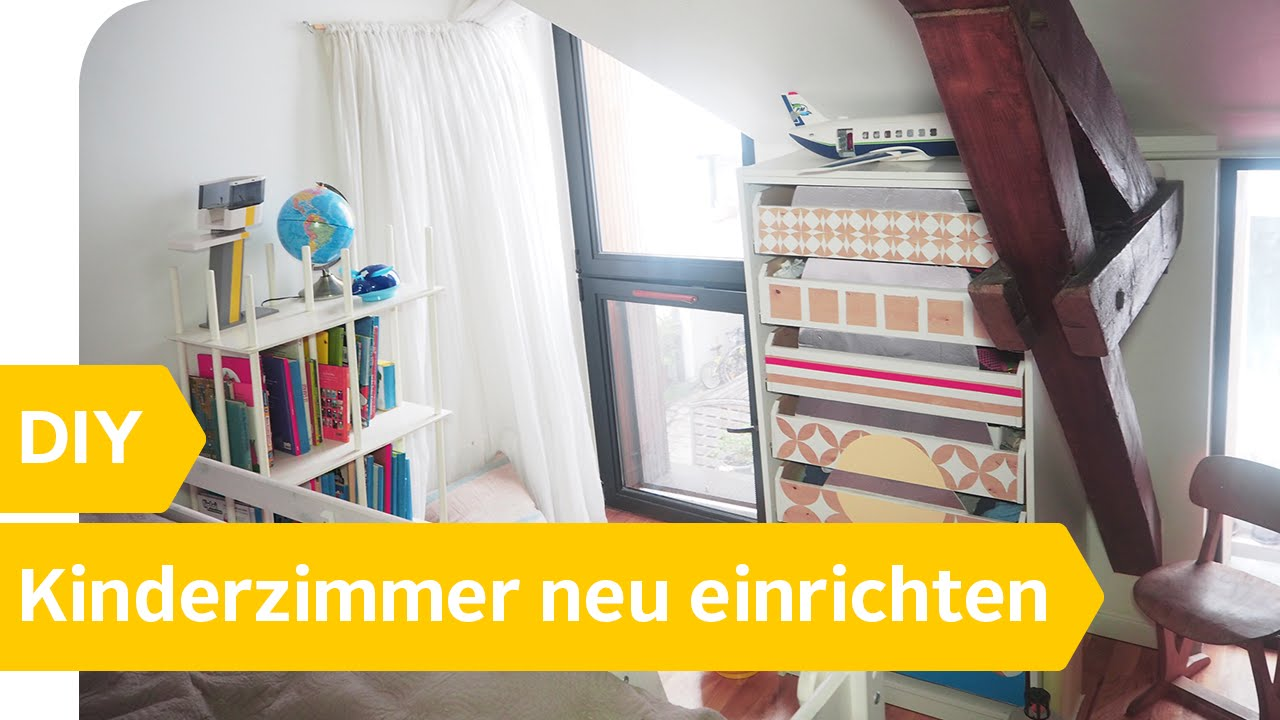 kinderzimmer neu gestalten kleine ver nderungen gro e wirkung youtube. Black Bedroom Furniture Sets. Home Design Ideas
