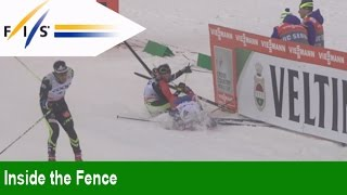 The Best Fall After a Cross Country Race - Inside the Fence - FIS World Cup, Lahti Finland 2015