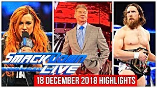 WWE SMACKDOWN LIVE 18 DECEMBER 2018 HIGHLIGHTS - WWE SMACKDONLIVE 12/18/18 HIGHLIGHTS - WWE SD LIVE