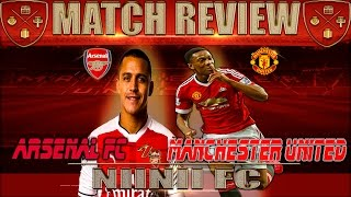 MANCHESTER 1 ARSENAL 1 !!! Match Review and Opinions |2016|