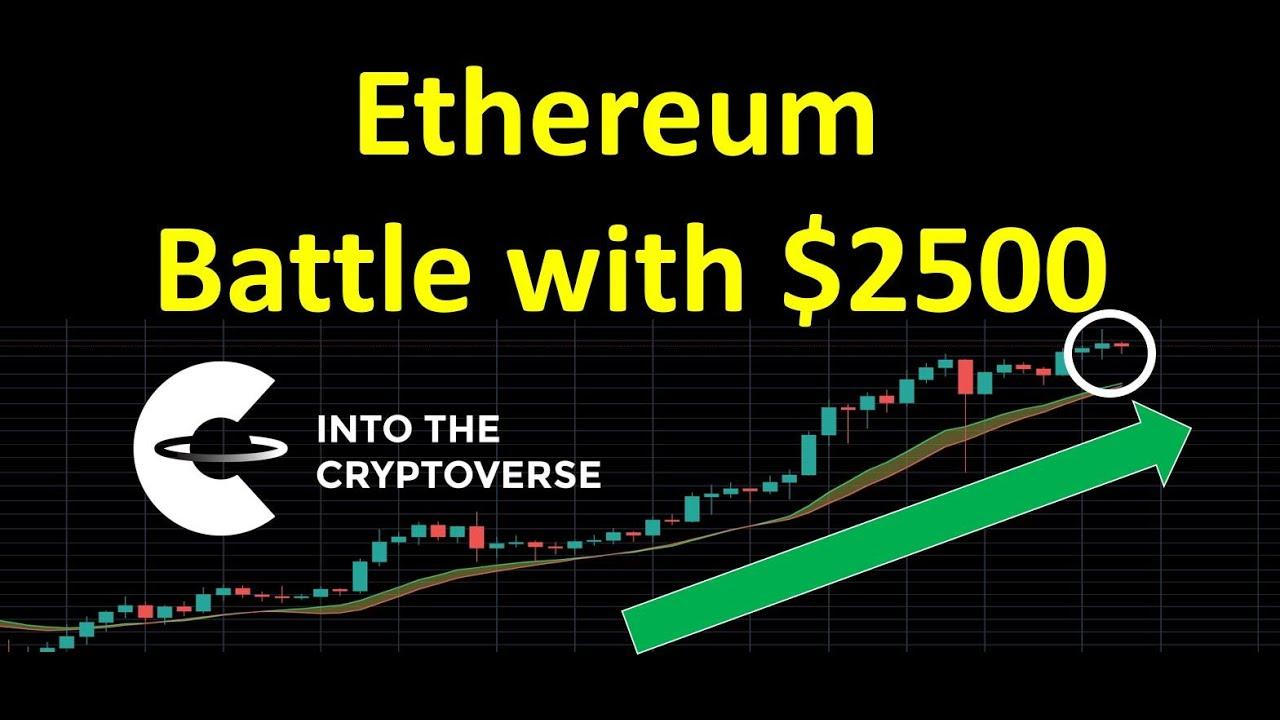 Ethereum price steams past another historic milestone