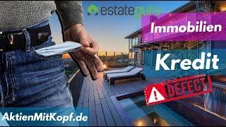 Estate Guru Erster IMMOBILIEN Kredit ausgefallen! Zahlungsplan & Autoinvest