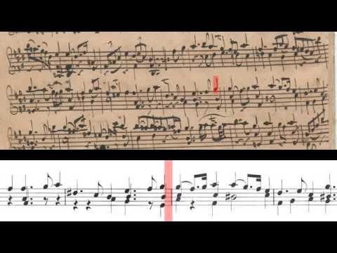 BWV 1006 - Partita No.3 for Solo Violin (Scrolling)