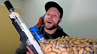 GIANT Bowl of Nuts Q and A w/ Furious Pete | Mukbang