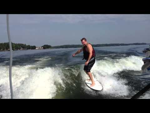 Joe Costner Wake Surfing @ Lake Wylie