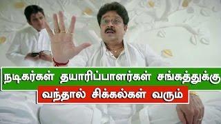 S.V. Sekar casts his vote Producers Council Election