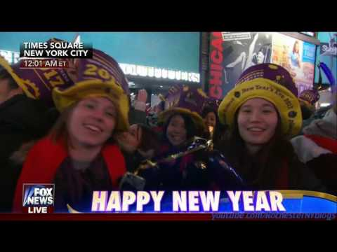 New Years 2017 Ball Drop - Fox News
