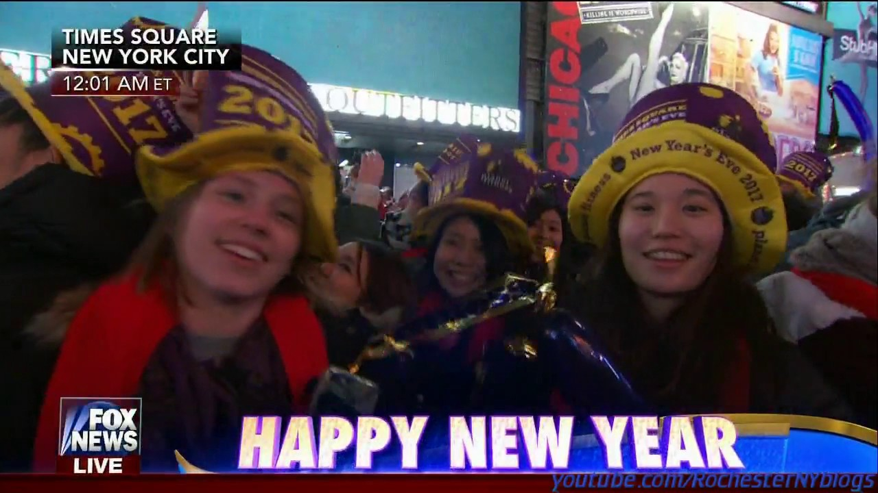 new years 2017 ball drop fox news