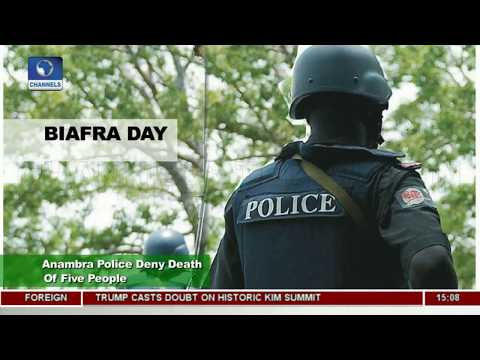 Biafra Day: Anambra Police Deny Death Of Five People