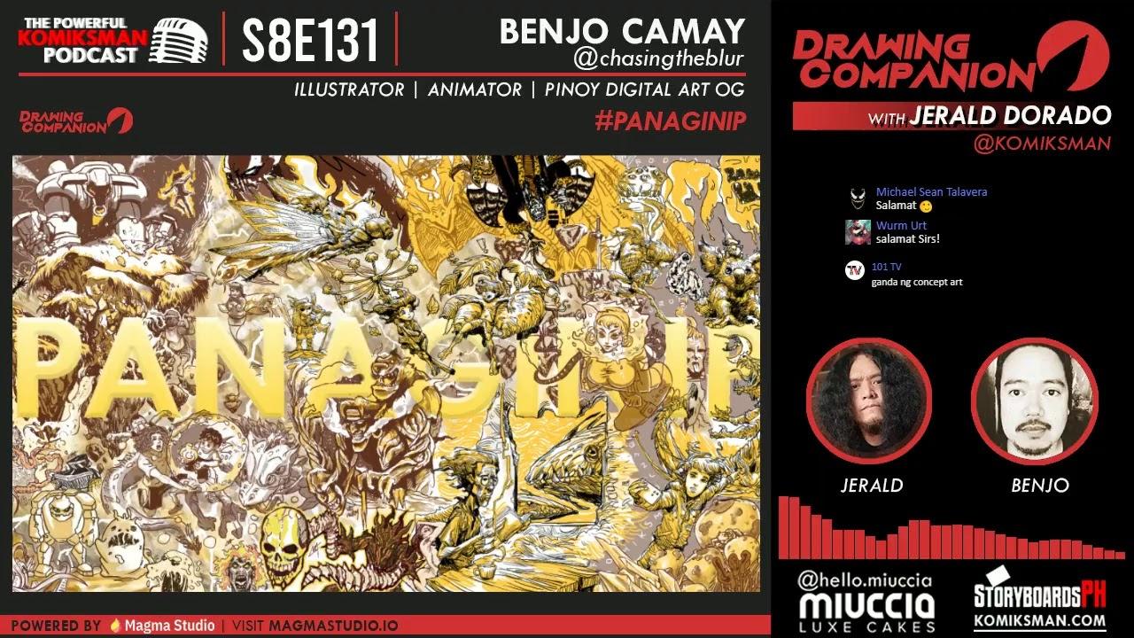 DRAWING COMPANION: BENJO CAMAY   CAMAY