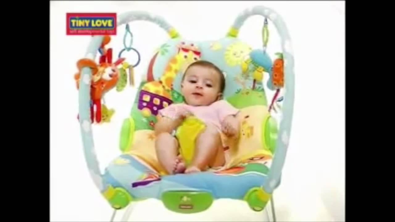 Tiny Love Bouncer Chair Philippe Starck Broom Gymini Youtube