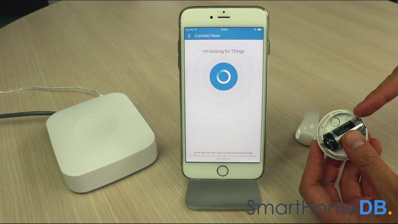 HOW-TO: Pair and Connect your Samsung SmartThings Hub with a Fibaro Motion  Sensor