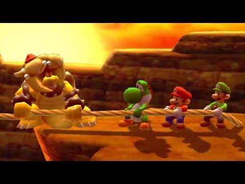 Mario Party The Top 100 - All Funny Minigames #7 - Peach vs Yoshi vs Mario vs Luigi (Master Cpu)