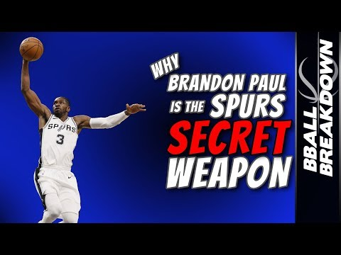 Why Brandon Paul is the Spurs Secret Weapon