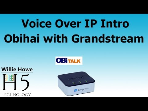 VoIP with Obihai OBi200 and Grandstream!