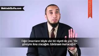 Kur'an'ın Şifâ Arayanlara Kifâyeti [Nouman Ali Khan] [Türkçe Altyazılı]