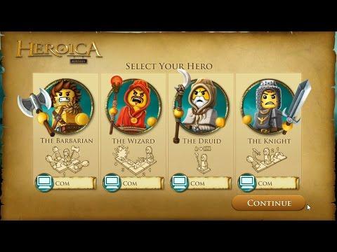LEGO Heroica Fortaan : Board Game