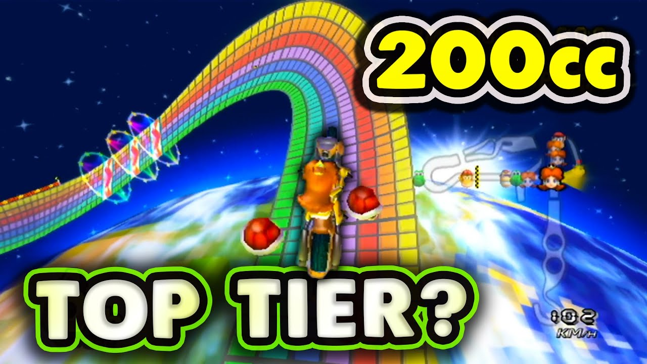 How Much Does Speed Actually Matter on 200cc?