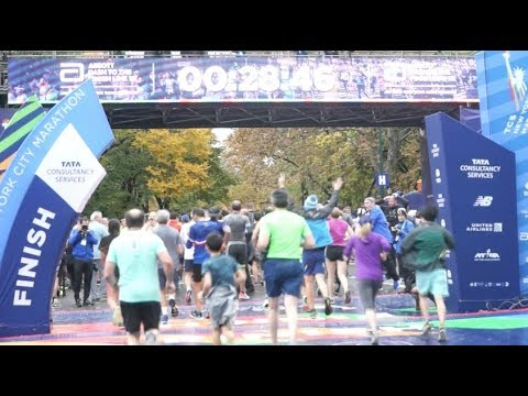 TCS NYCM 18 Dash To Finish Line