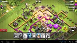 Clash of Clans - Tentando atacar com MAGOS! (Semi-Fail)