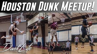 Houston Group Dunk Sesh! - 5'10