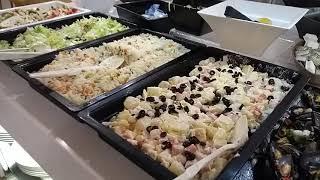 Hotel California Garden обзор ужина 29 09 2019 Salou Abendessen Dinner