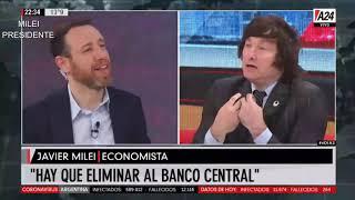 """""""El peronismo es fascismo"""" Javier Milei en A24- 16/09/20"""