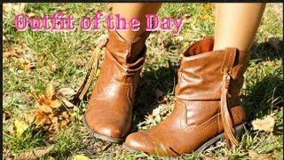 OOTD: Cowgirl Boots ft. RetroCitySunglasses.com + GIVEAWAY!