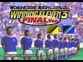 Winning Eleven 3 - Final Version (Playstation) - Exibição - World All Stars x Europe All Stars