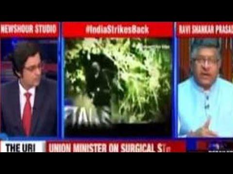 Pakistan Illegally Occupies PoK Confirms Ravi Shankar Prasad