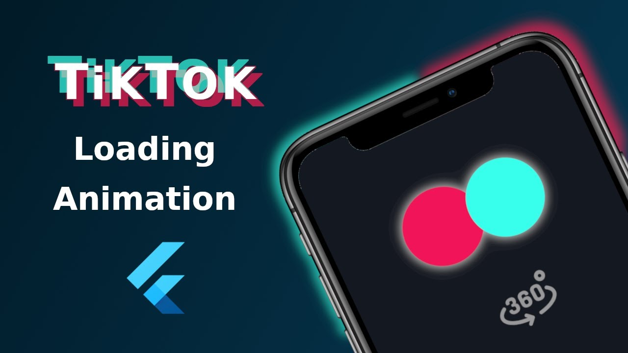 How to Create TikTok Loading Animation in Flutter [Speed Code]