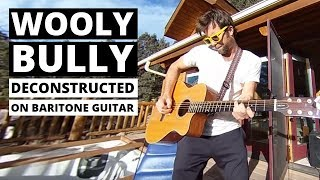 wooly bully deconstructed on the baritone guitar in 360 vr w/ spatial audio