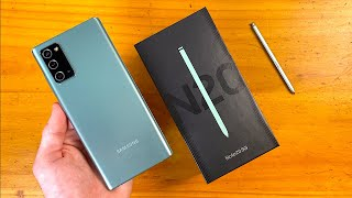 Samsung Galaxy Note 20 5G (Mystic Green) Unboxing & First Impressions!
