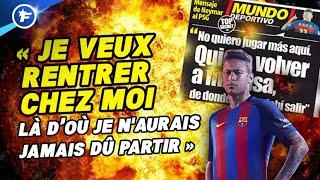 Neymar force plus que jamais son départ du PSG | Revue de presse