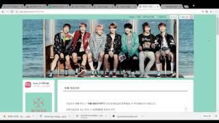 BTS Fancafe Sign Up Tutorial