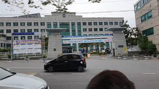 부산광역시 북구 화명동 방송통신대학교 화명캠퍼스 모습