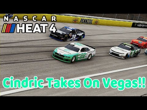 NASCAR Heat 4 - Cindric Takes On Vegas!! |