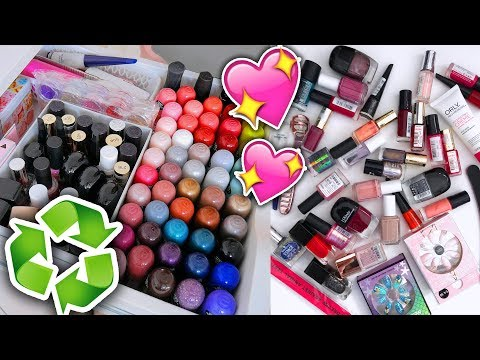 MAKE UP STASH UITZOEKEN EN OPRUIMEN nagellak & nagels lakken ShelingBeauty