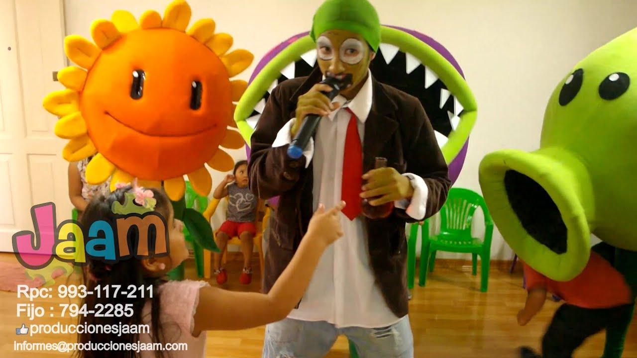 Show Infantil Plantas Vs Zombies
