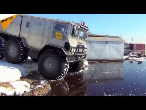 New Off-Road Arctic Vehicle on Mission to Reach the North Pole