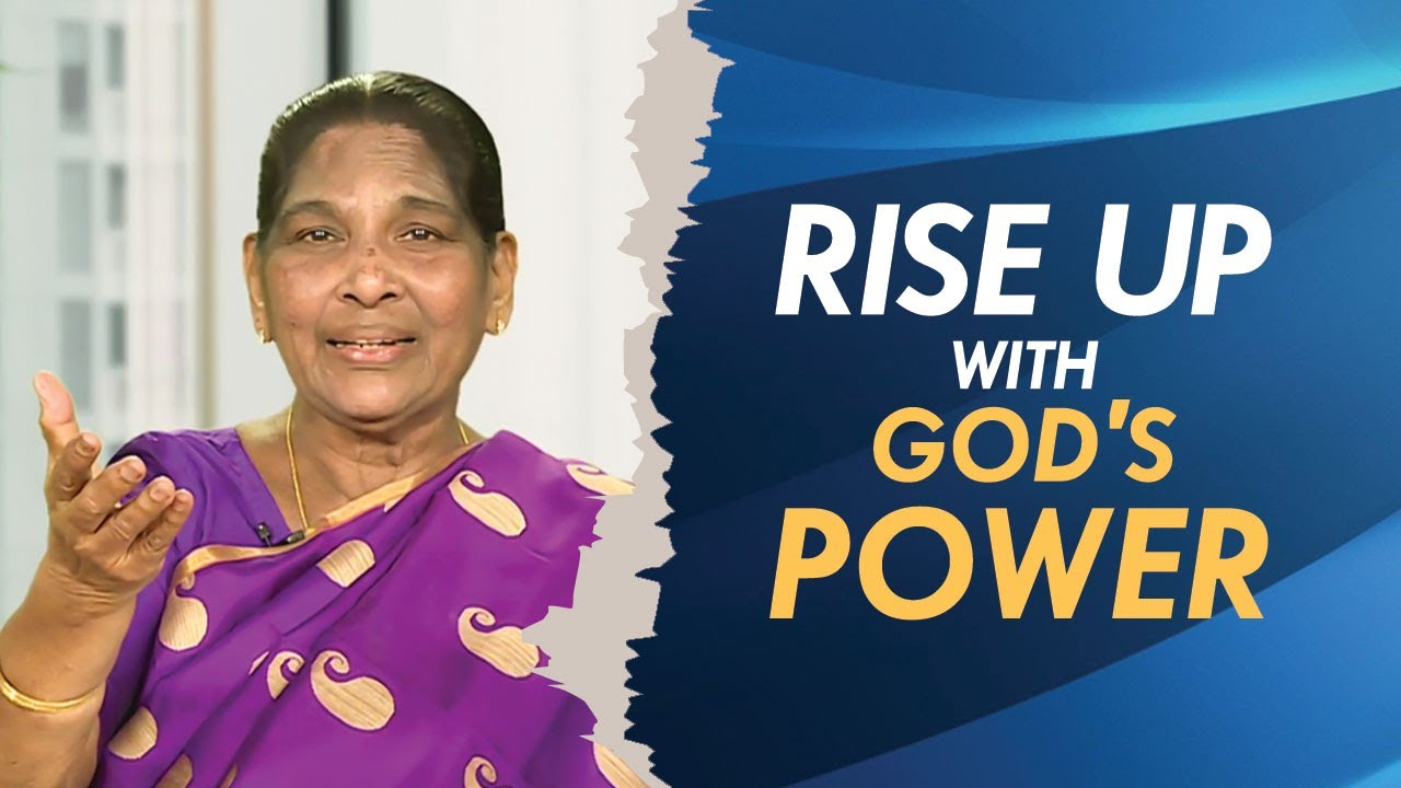Rise Up With God's Power | Sis Stella Dhinakaran | Jesus Calls