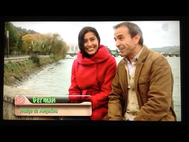 Angelina Masud en Television Gallega.